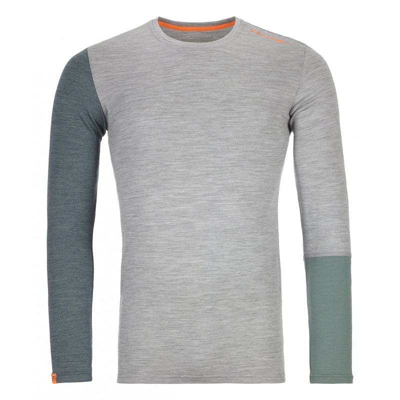 Ortovox 185 Rock'N'Wool Long Sleeve - Ropa interior merino - Hombre