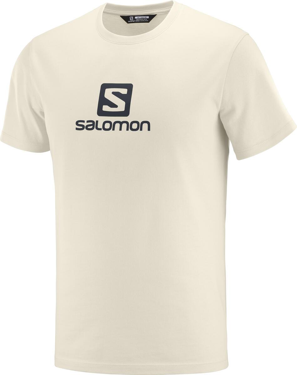 Salomon - Coton Logo SS TEE M - Camiseta - Hombre