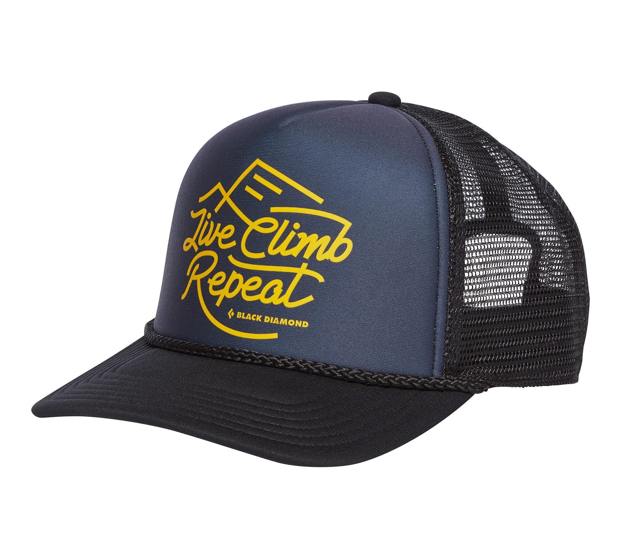 Black Diamond - Flat Bill Trucker Hat - Gorra