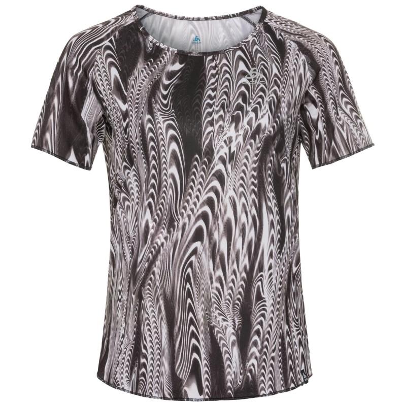 Odlo Millennium Element Print T-Shirt S/S Crew Neck - T-shirt - Mujer