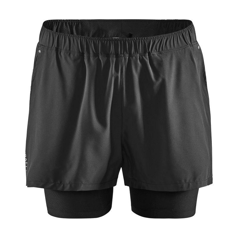 Craft Adv Essence 2 In 1 Stretch Short Pantalones Cortos De Running Hombre