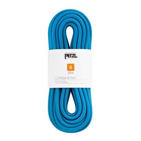 Petzl - Conga 8 mm - 30 m - Cuerda de escalada