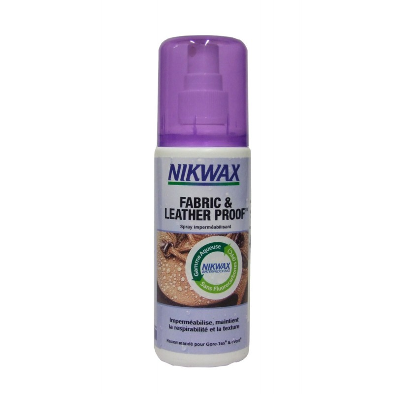 Nikwax - Spray imperméabilisant pour chaussures en tissu ou cuir - DWR treatment