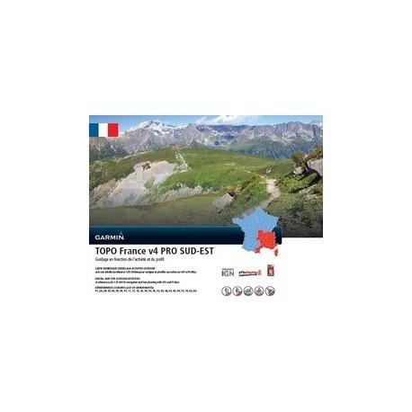 Garmin - TOPO France v4 PRO - Sud-Est