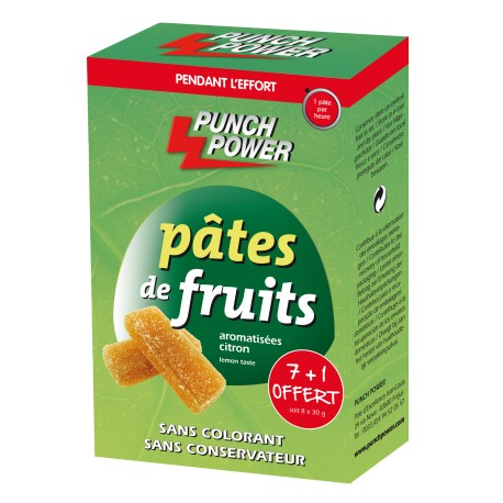 Punch Power - Pâtes de fruits citron (8 x 30 g)