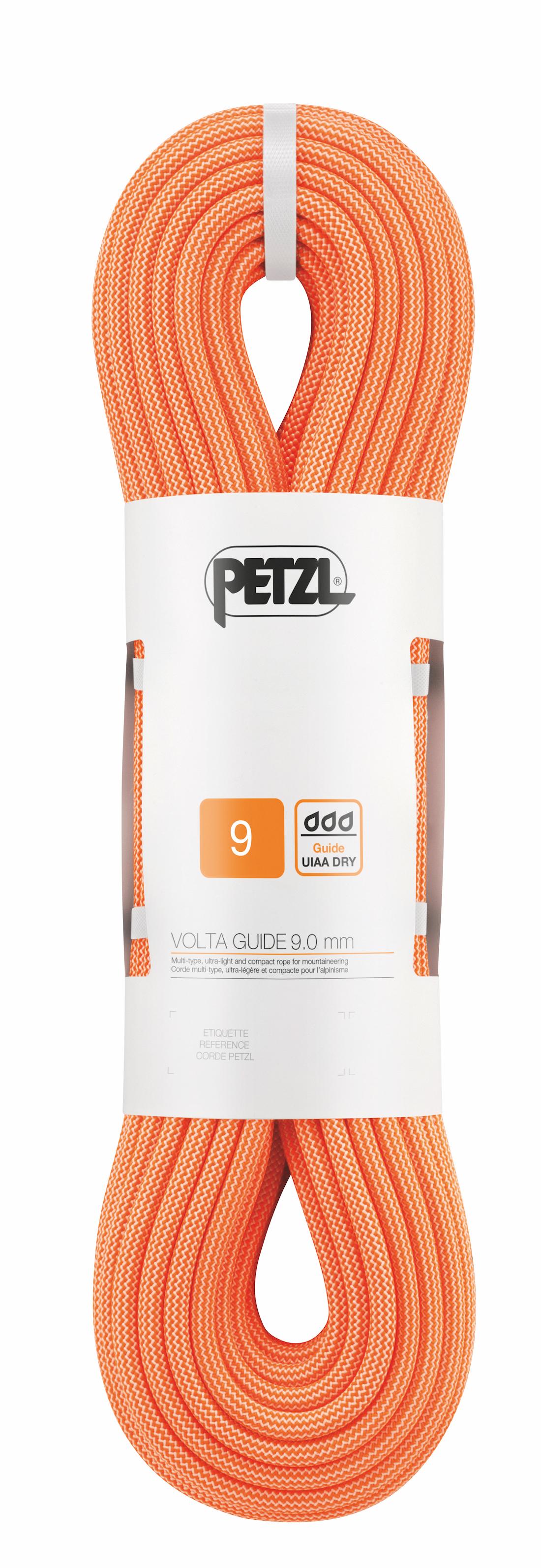 Petzl - Volta Guide 9 mm - Cuerda de escalada