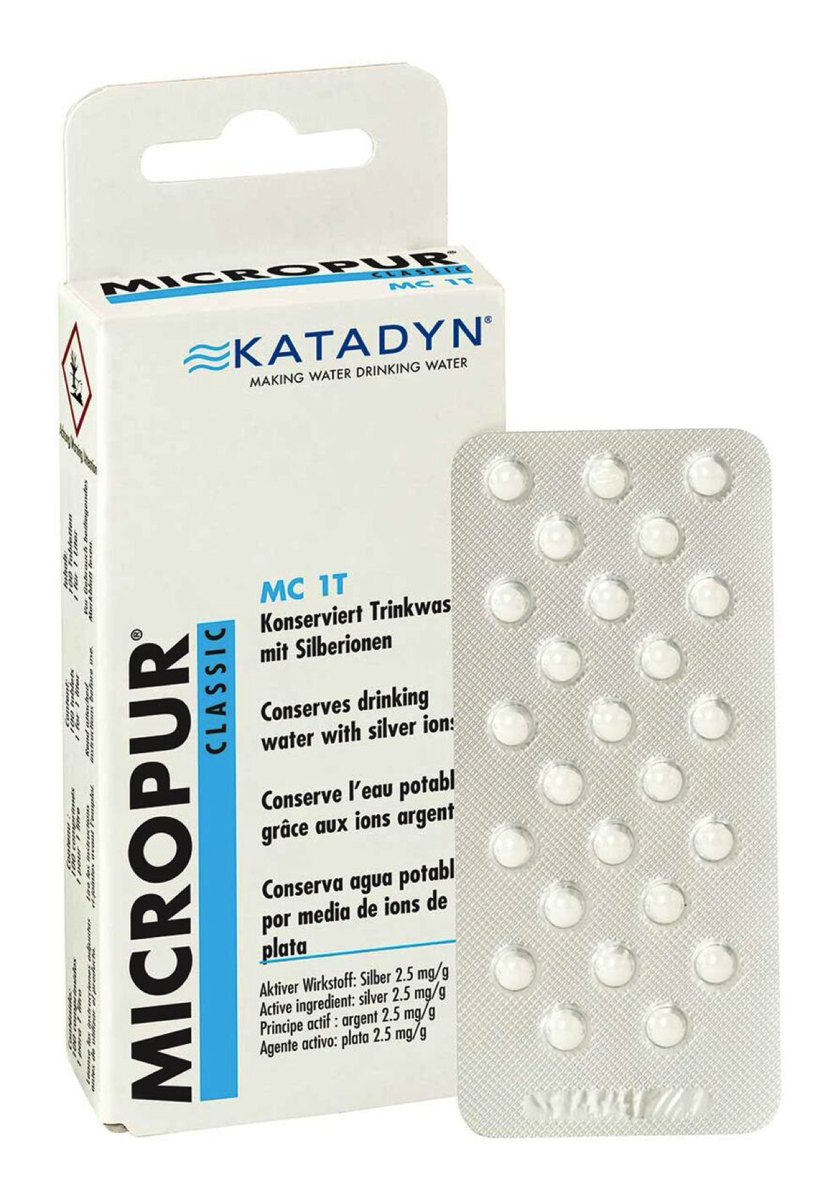 Katadyn - Micropur Classic MC 1T - Desinfección del agua