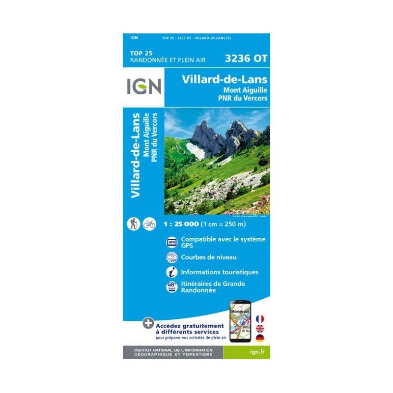 IGN Villard-De-Lans / Mont Aiguille / PNR du Vercors