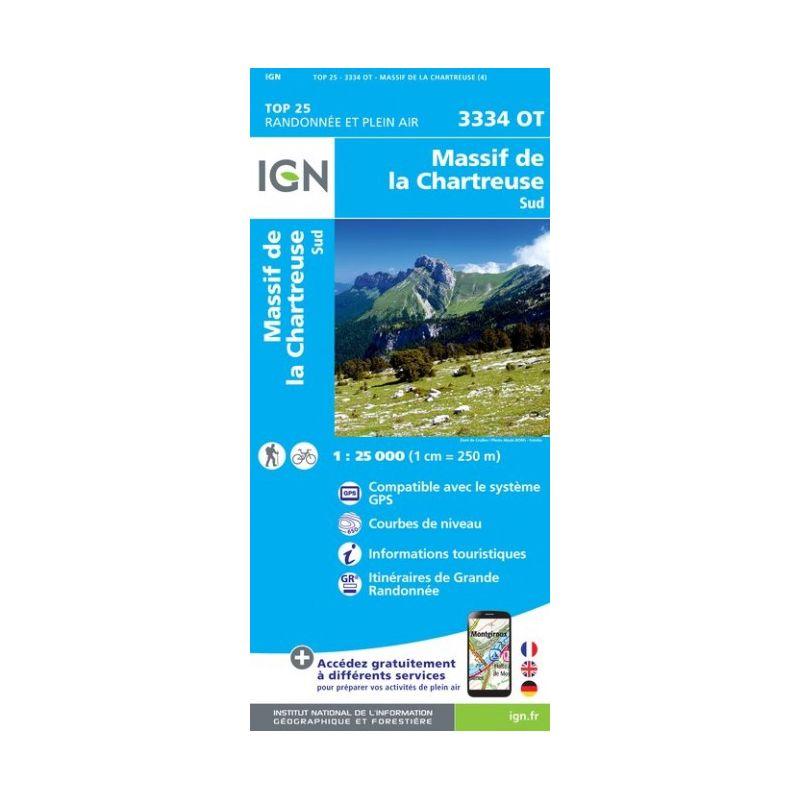IGN Massif de la Chartreuse Sud