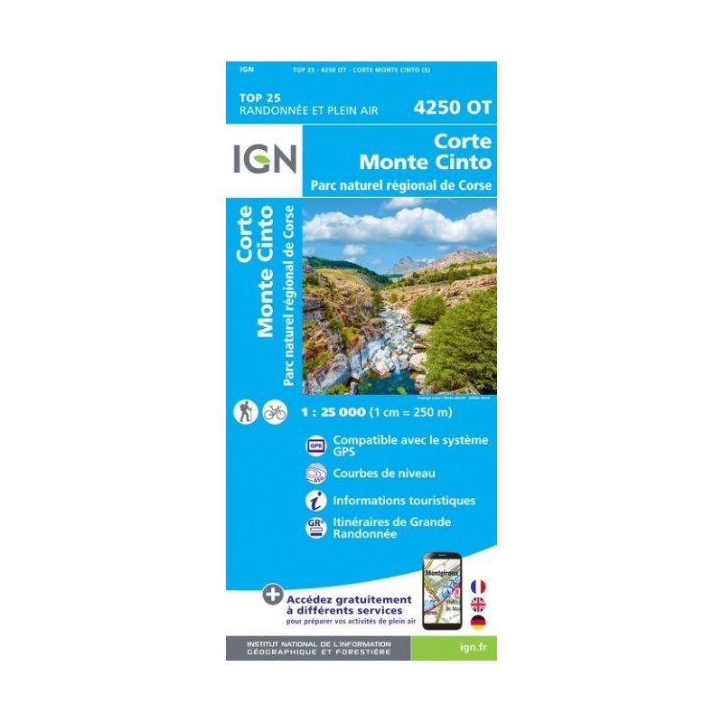 IGN Corte / Monte Cinto / PNR de Corse